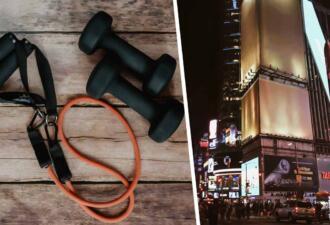 Бодипозитивщики обвинили фитнес-тренершу в фэтфобии из-за рекламы на Таймс-сквер