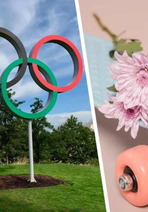 Девочки-подростки взяли все медали на олимпийских соревнованиях по скейтбордингу