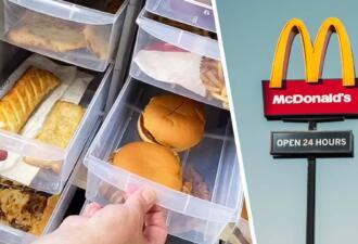 Диетолог два года хранила фастфуд из «Макдоналдса» в шкафу, а он не испортился