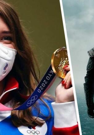 Поклонница «Ведьмака» из России выиграла золото по стрельбе на Олимпиаде в Токио