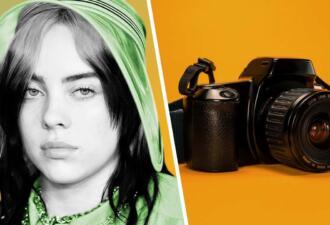 Билли Айлиш снялась для Vogue, но на всех фото у неё одинаковое выражение лица