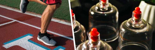 Круги на телах атлетов на Олимпиаде оказались следами от банок
