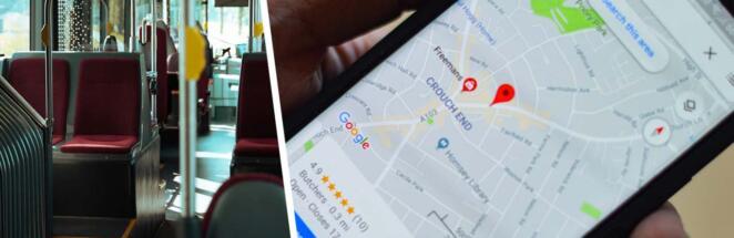 Загруженность вагонов метро можно узнать через Google Maps
