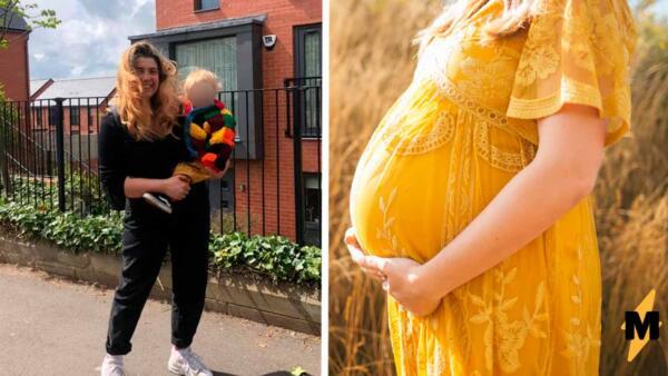 Мама вернулась с работы и родила ребёнка. О беременности она узнала, когда начались схватки