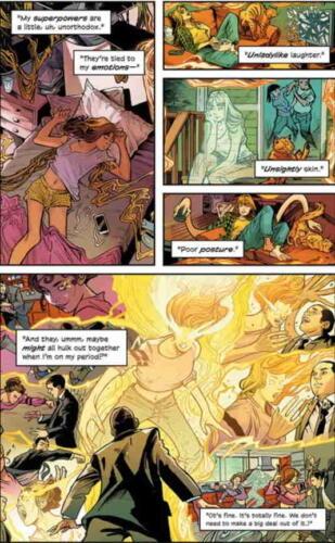 Эмилия Кларк выпустила комикс о матери супергероине, и он вдохновлён Дэдпулом
