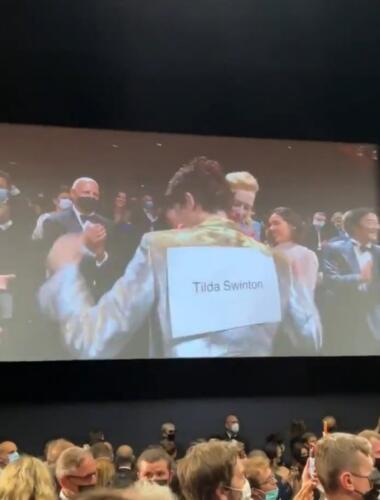 Тимоти Шаламе и Тильда Суинтон сорвали овации в Каннах. Но людям больше зашёл пранк актрисы