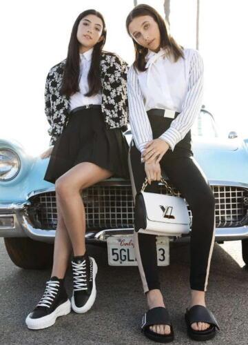 «Королева тиктока» Чарли Дамелио - новое лицо Louis Vuitton, и ветераны-модники