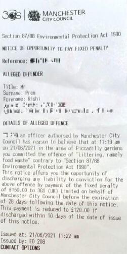 Студента оштрафовали за то, что он бросил лепёшку на землю, чтобы покормить голубя