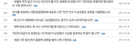 Олимпийская чемпионка из Кореи подверглась травле из-за короткой стрижки