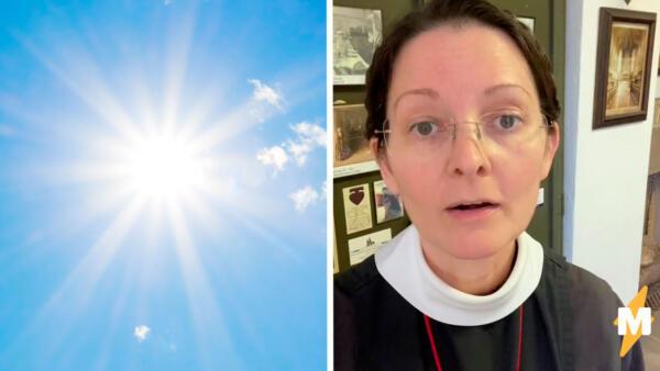 Монашке 55, а на её лице ни одной морщины. Секрет молодости — солнце (его отсутствие)