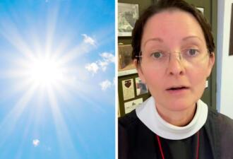 Монахине-блогерше 55 лет, но по её лицу этого не скажешь. Секрет молодости — прятаться от солнца