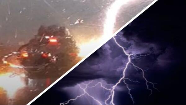 Молния три раза ударила в авто с пассажирами внутри. Фобия, уходи из чата — все живы, и этому есть объяснение