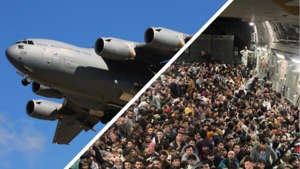 Что известно о перегруженном самолёте ВВС США с 640 беженцами из Афганистана на борту