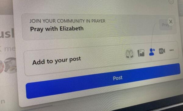"""В соцсети Facebook появилась кнопка """"помолиться"""" для обращения к Богу в соцсетях"""