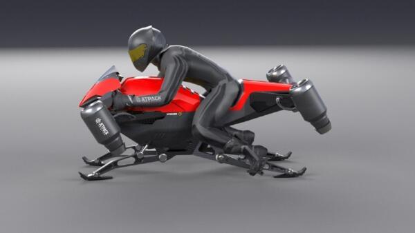 Jetpack Aviation готовится запустить летающие мотоциклы в течение двух лет