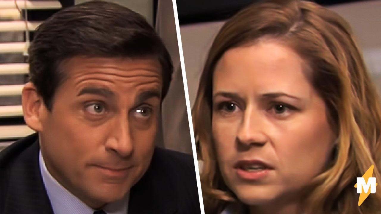 Мем с Майклом и Пэм из сериала Офис показывает стереотипы о разных странах