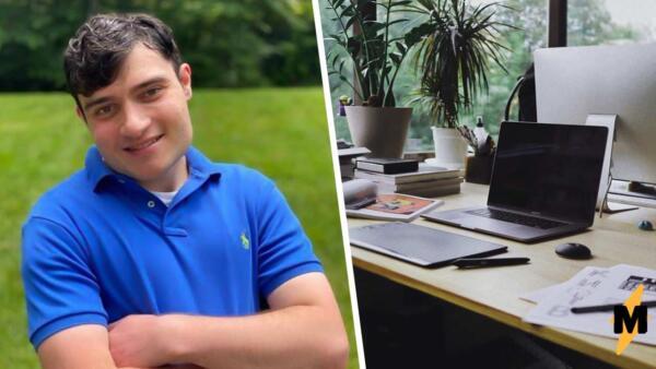 Инвалид, страдающий от синдрома Q22, получил работу и принял тысячи поздравлений