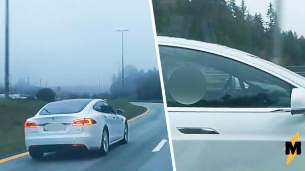 В Норвегии автопилот Tesla спас от аварии уснувшего за рулём водителя