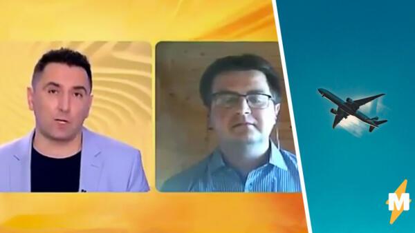 Ведущий новостей на видео спросил, могут ли сверхзвуковые самолёты связываться с диспетчерами