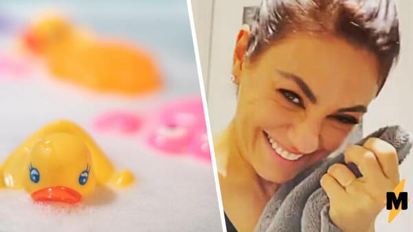 Эштон Катчер и Мила Кунис на видео наконец-то помыли своих детей