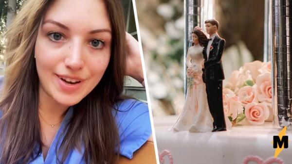 Девушку попросили не приходить на свадьбу, потому что она работала с заболевшими короной