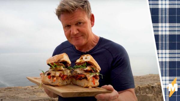 Гордон Рамзи приготовил португальский бутерброд и познал гнев. За хрустящие булочки его поджарил конкурент