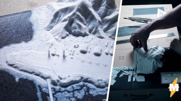 Дизайнер создал модель карты из игры GTA V и распечатал её на 3D-принтере