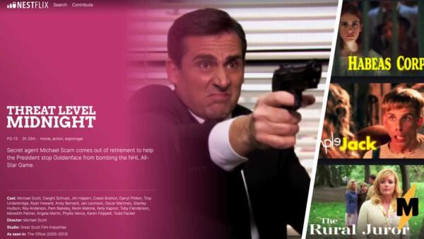 В Сети появился сайт Nestflix с вымышленными фильмами, которые смотрели герои настоящего кино