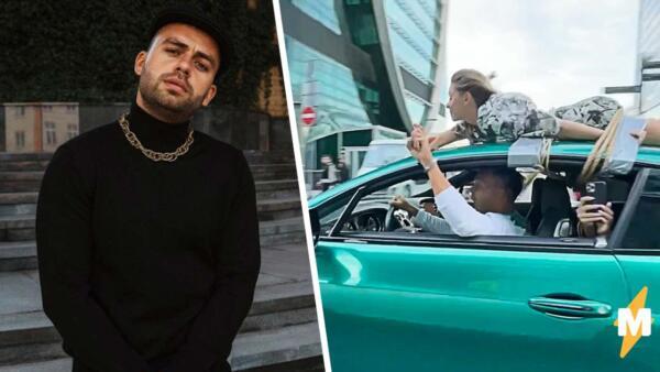 Блогер Сергей Косенко привязал девушку на крышу Bentley и прокатился по Москве