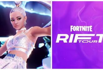 Epic Games показала видео с персонажем певицы Арианы Гранде в игре Fortnite
