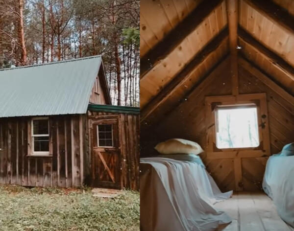 Осенние пейзажи и уютные дома. Тиктокеры участвуют в тренде кабинкор и показывают загородную эстетику