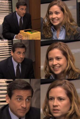 """Кадры из сериала """"Офис"""" стали мемом о разных странах и их уникальных особенностях"""