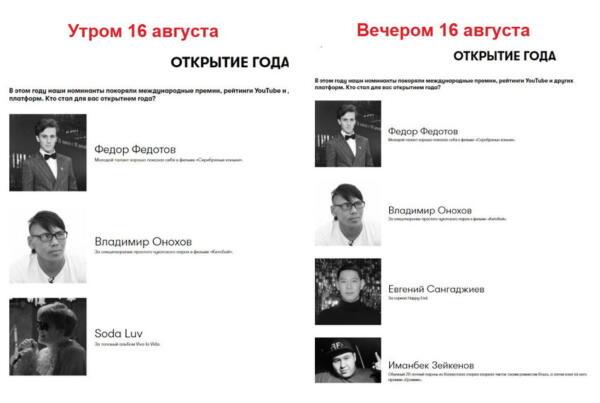 Рэпера SODA LUV остался номинантом на премию GQ Russia после обвинений в домогательствах к несовершеннолетней