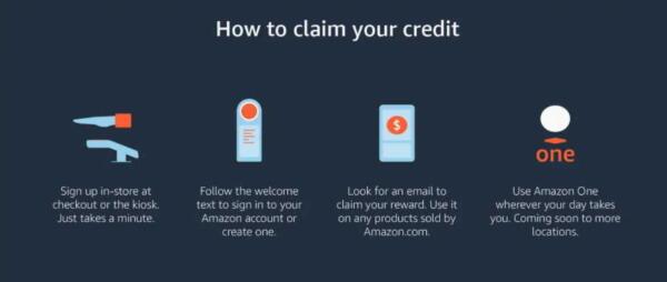 Amazon купит отпечатки ладоней клиентов за купон на десять долларов