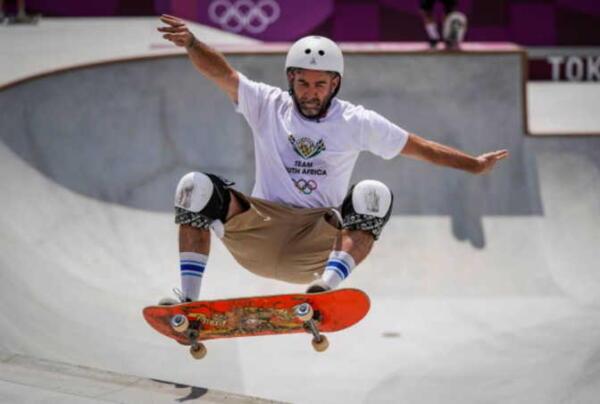 Безработный скейтер в 46 лет попал на Олимпиаду в Токио и наконец порадовал маму