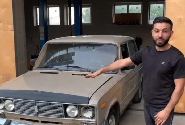"""""""Дракон"""" - автомеханик из Краснодара сделал из """"шестёрки"""" машину-огнемёт"""