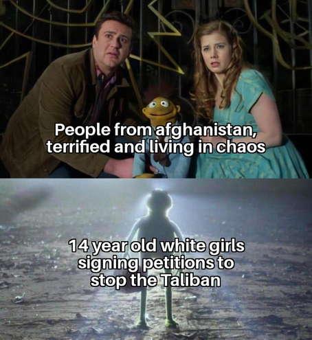 Мемы про петиции против Талибана
