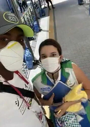 Спортсмен поблагодарил волонтёршу, которая заплатила за такси до соревнований