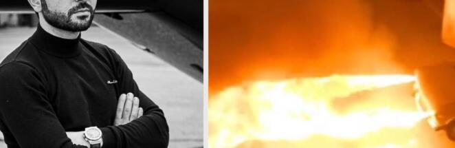 Автомеханик из Краснодара сделал из «шестёрки» машину-огнемёт