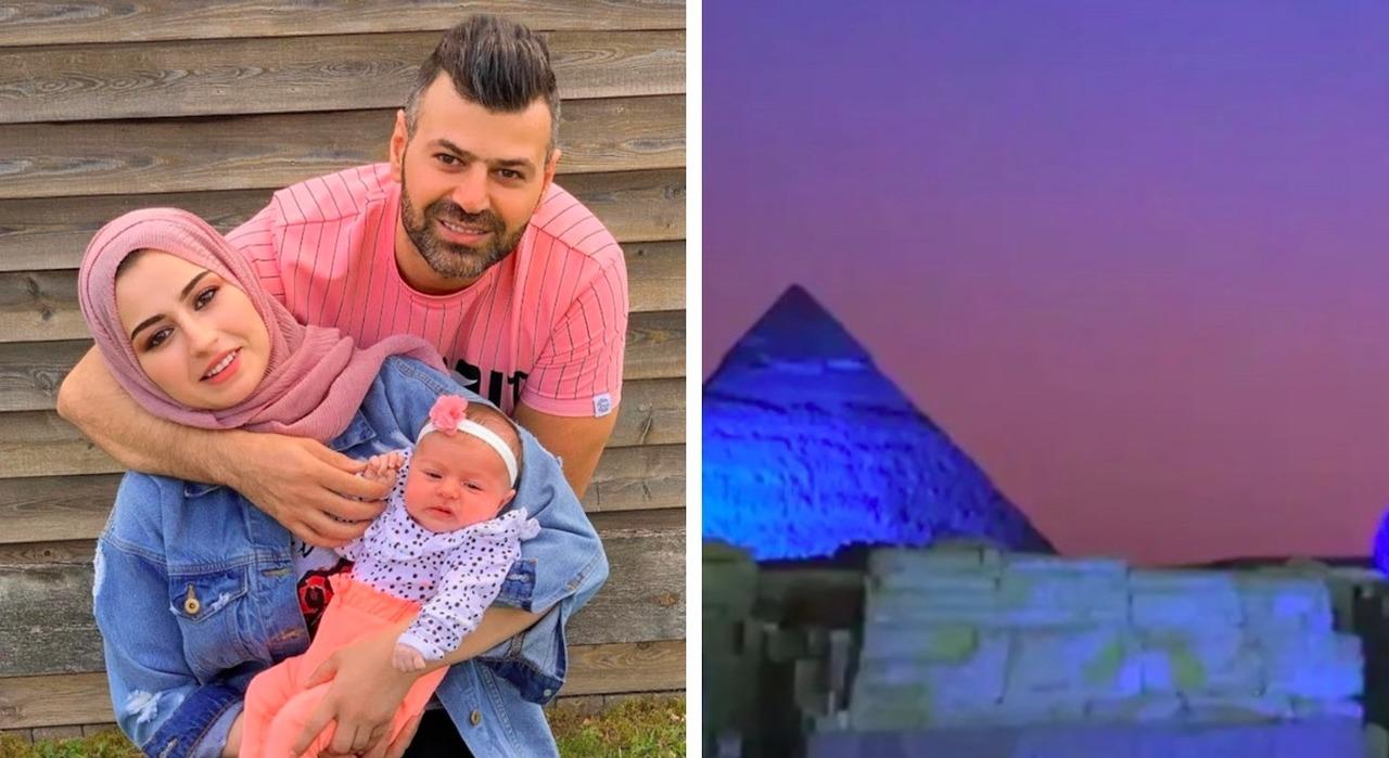 Ютубер из Египта сказал, что пирамиды подсветили ради гендер-пати в его семье, и власти подали на него в суд