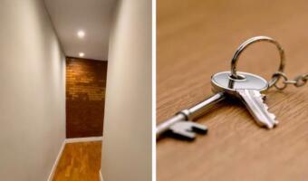 Риелтор показал на видео, что в квартире за 216 тысяч рублей в месяц кривые стены