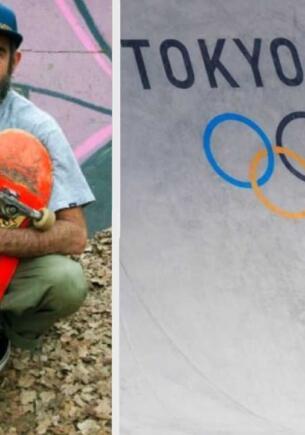Безработный скейтбордист в 46 лет попал на Олимпиаду Токио-2020 и порадовал маму