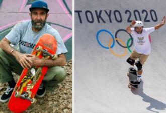 Безработный скейтбордист в 46 лет попал на Олимпиаду в Токио — 2020 и порадовал маму