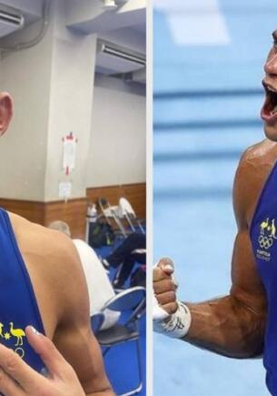 Боксёр из Австралии на Олимпиаде в Токио вышел на бой с накрашенными ногтями и выиграл его