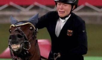 Лошадь немецкой наездницы улыбнулась и стала мемом о том, что доводит человека до слёз