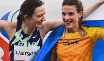 Украинская прыгунья подверглась критике за фото с российской коллегой на Олимпиаде в Токио