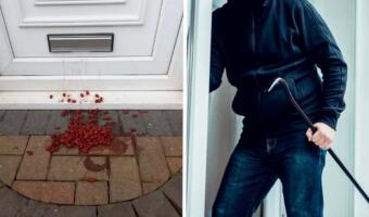 Рассыпанная у двери фасоль указывает, что нужно бояться воров. Как грабители помечают дома своих жертв