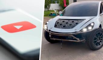 Ютуберы превратили электрокар Tesla Model 3 во внедорожник и показали результат на видео