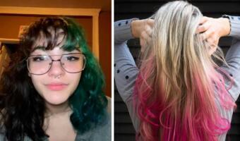Студентка самостоятельно покрасила волосы, и у неё из-за аллергии увеличилась голова