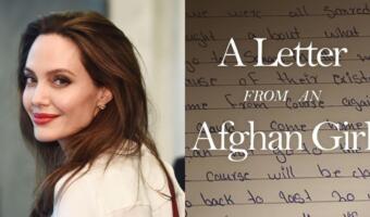 Анджелина Джоли получила миллионы подписчиков в инстаграме, опубликовав письмо девочки из Афганистана